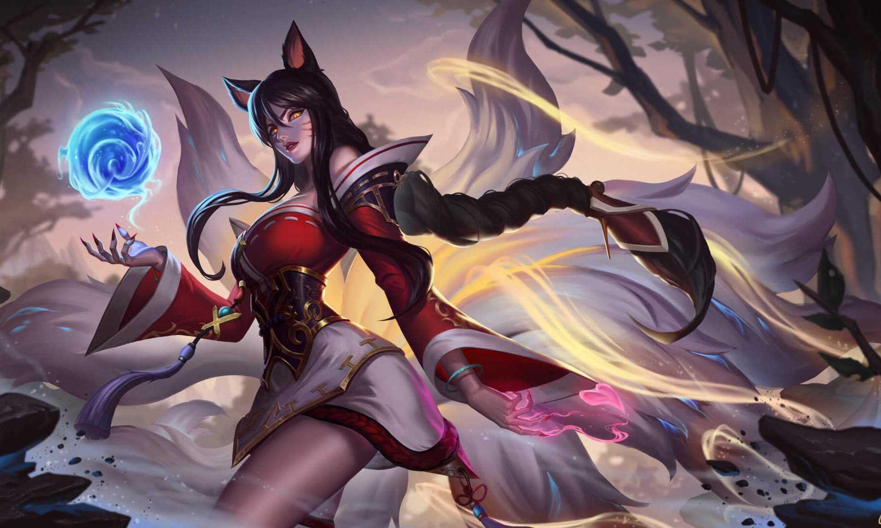 4k League Of Legends Ahri Wallpaper Hd