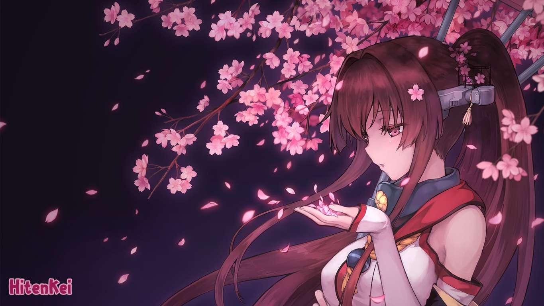 Akagi Kancolle Anime Anime Kaga Kancolle Kantai Collection Wallpaper Girls