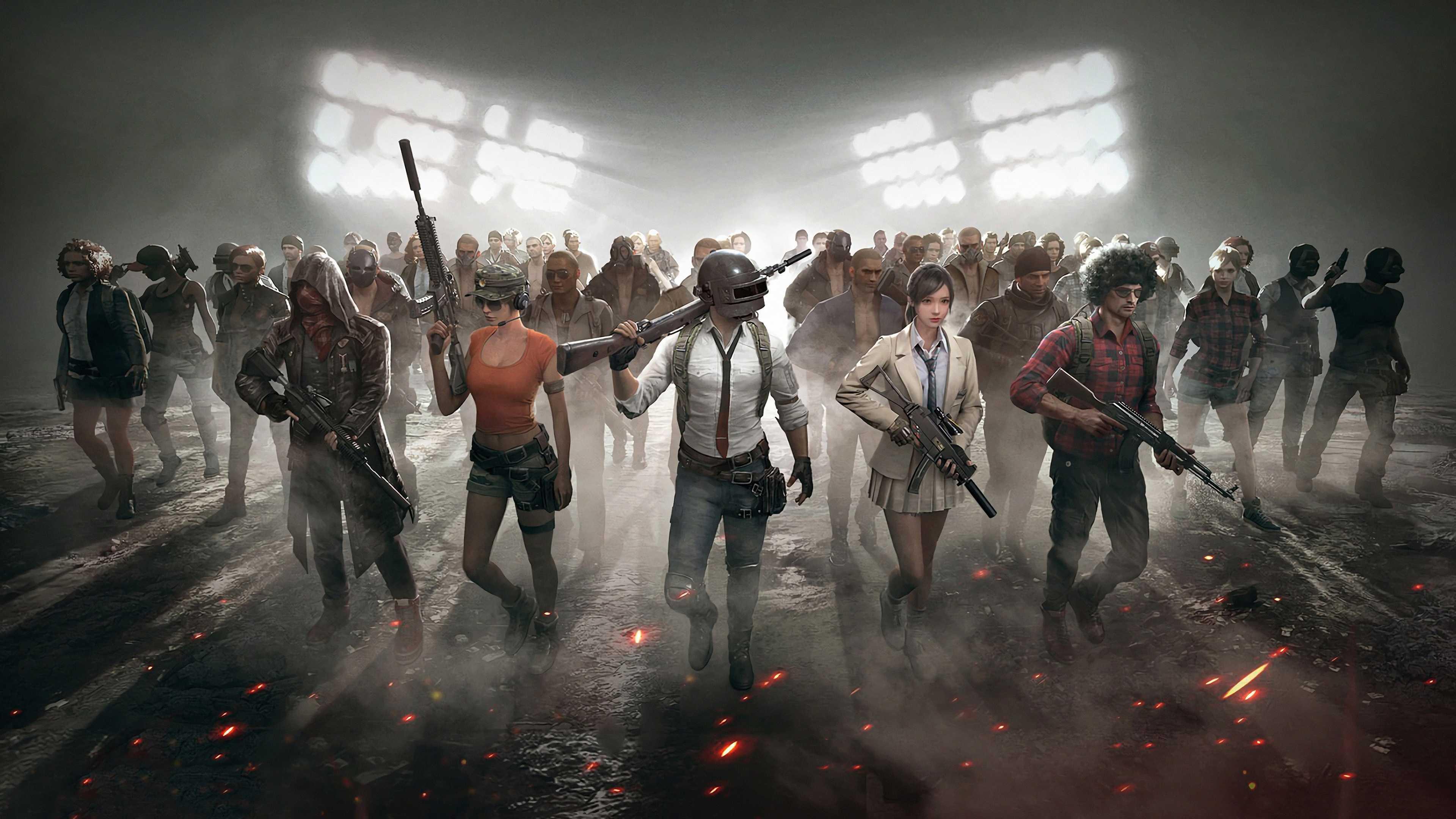 All Team Playerunknown's Battlegrounds