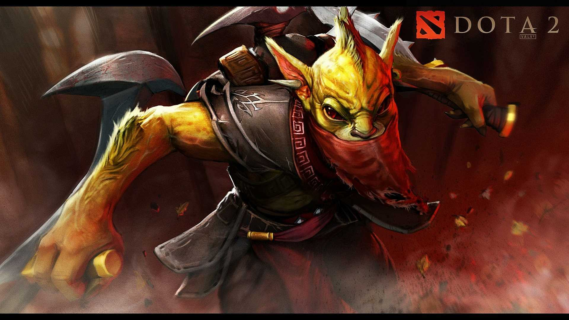 Amazing Dota 2 Hd Gaming Background For Mobile Wallpaper.
