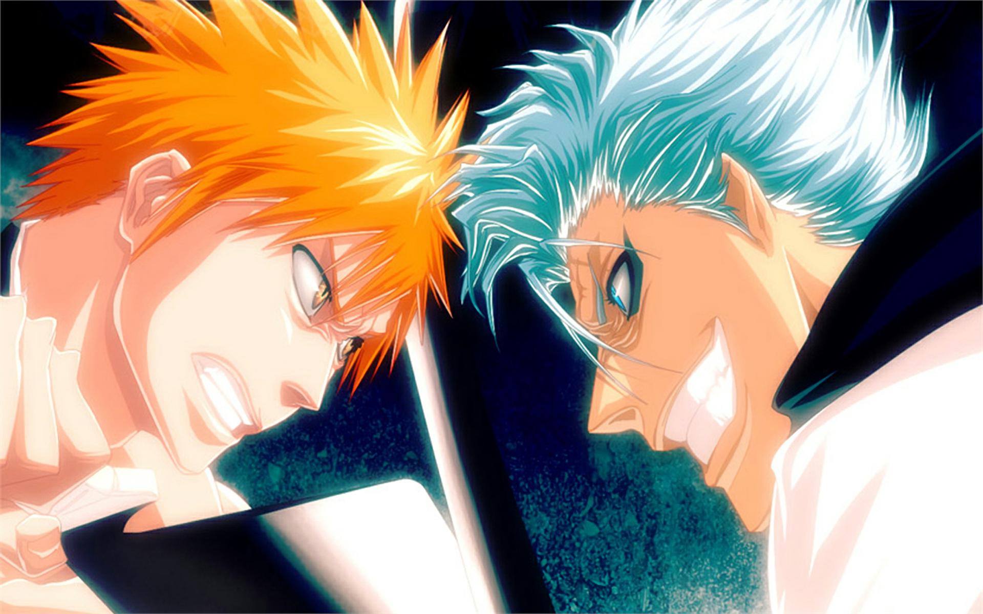 Anime Bleach Zaraki Kenpachi And Background Wallpaper