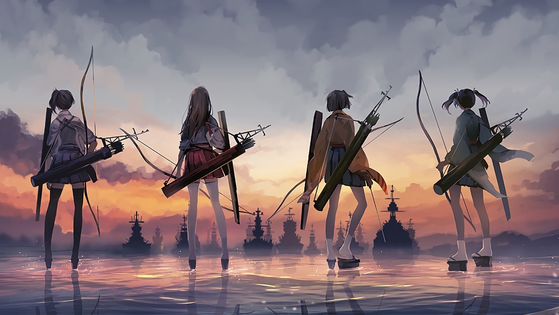Anime Kantai Collection Wallpaper Anime All Art Art