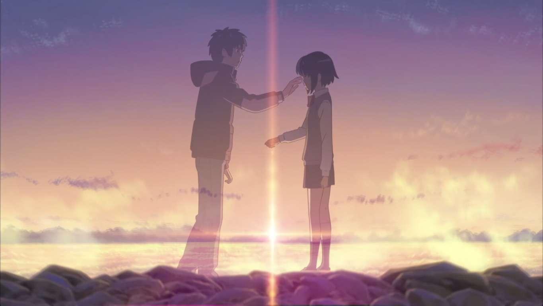 Anime Your Name Mitsuha Kimi No Na Wa Fondo De Pantalla Miyamizu