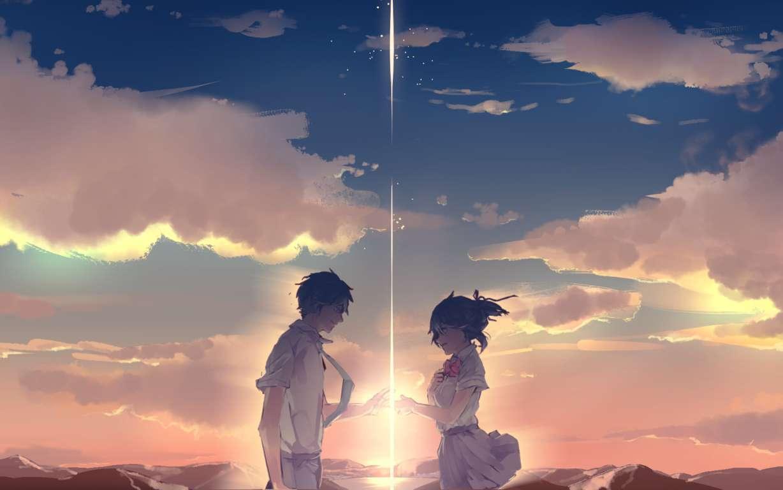 Anime Your Name Mitsuha Kimi No Na Wa Taki Tachibana Miyamizu