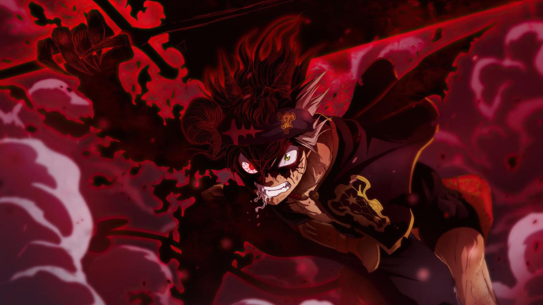 Asta Demon Black Clover Black Clover Anime Black Wallpaper