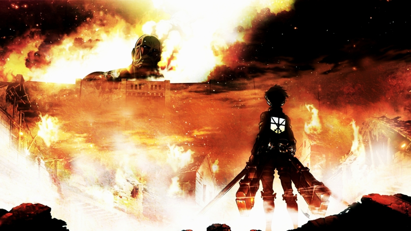 Attack On Titan Hd And Background Image Wallpaper