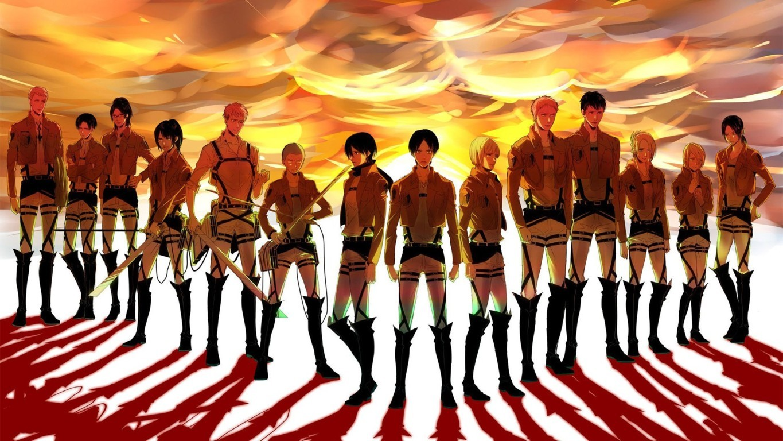 Attack On Titan On Animoo Minimalistic