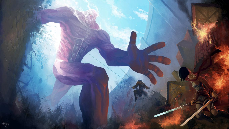Attack On Titan Scouting Wallpaper Legion