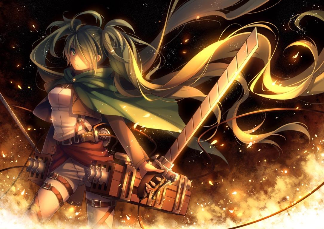 Attack On Titan Wallpaper Blade Attack On Titan Kirschtein