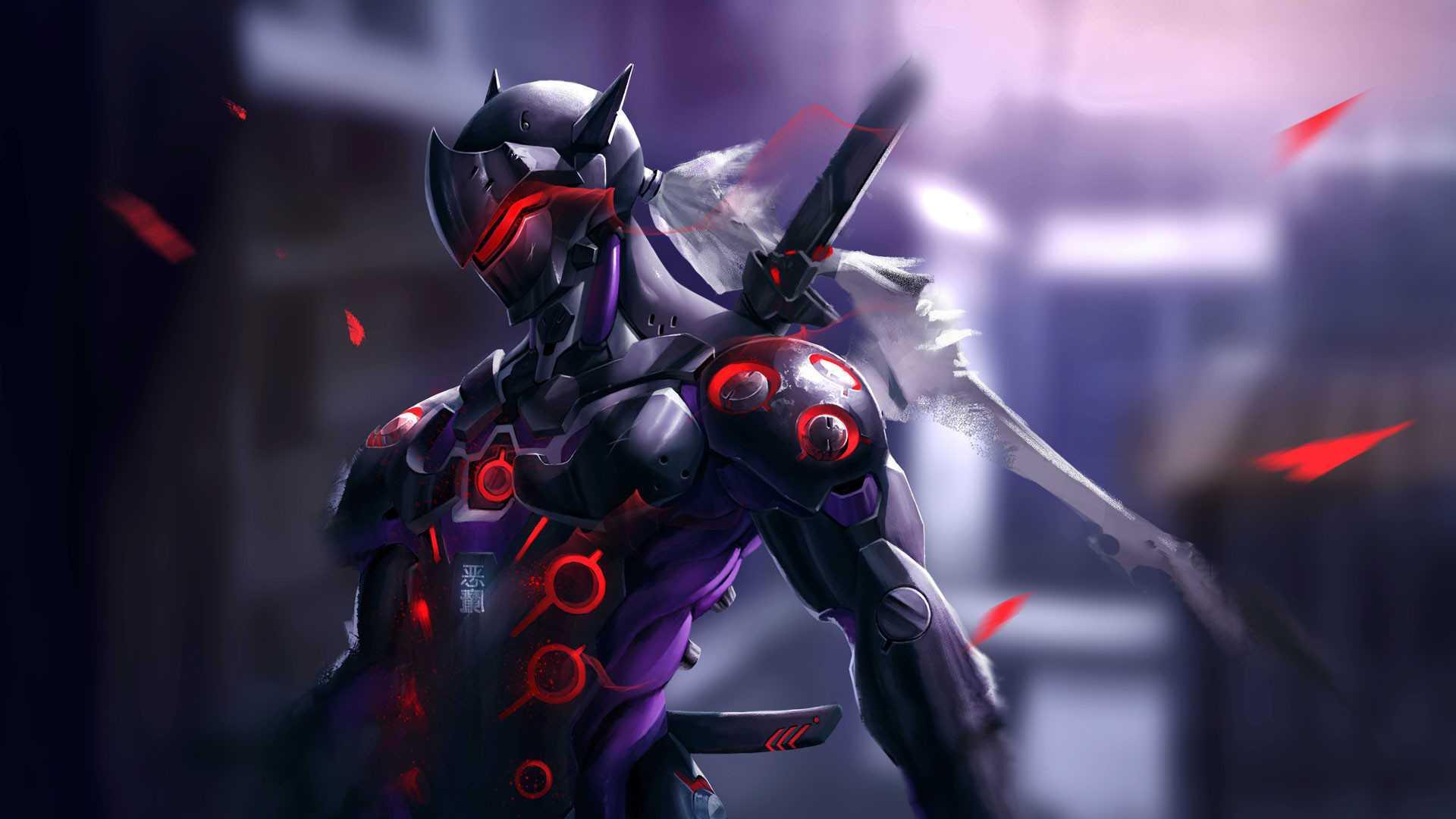 Best Overwatch Genji 4k Background
