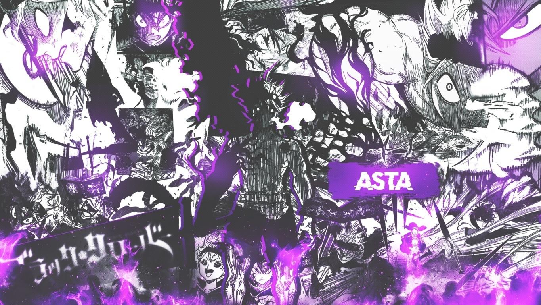Black Bull Black Clover Seni Anime Seni Dan Animasi Wallpaper