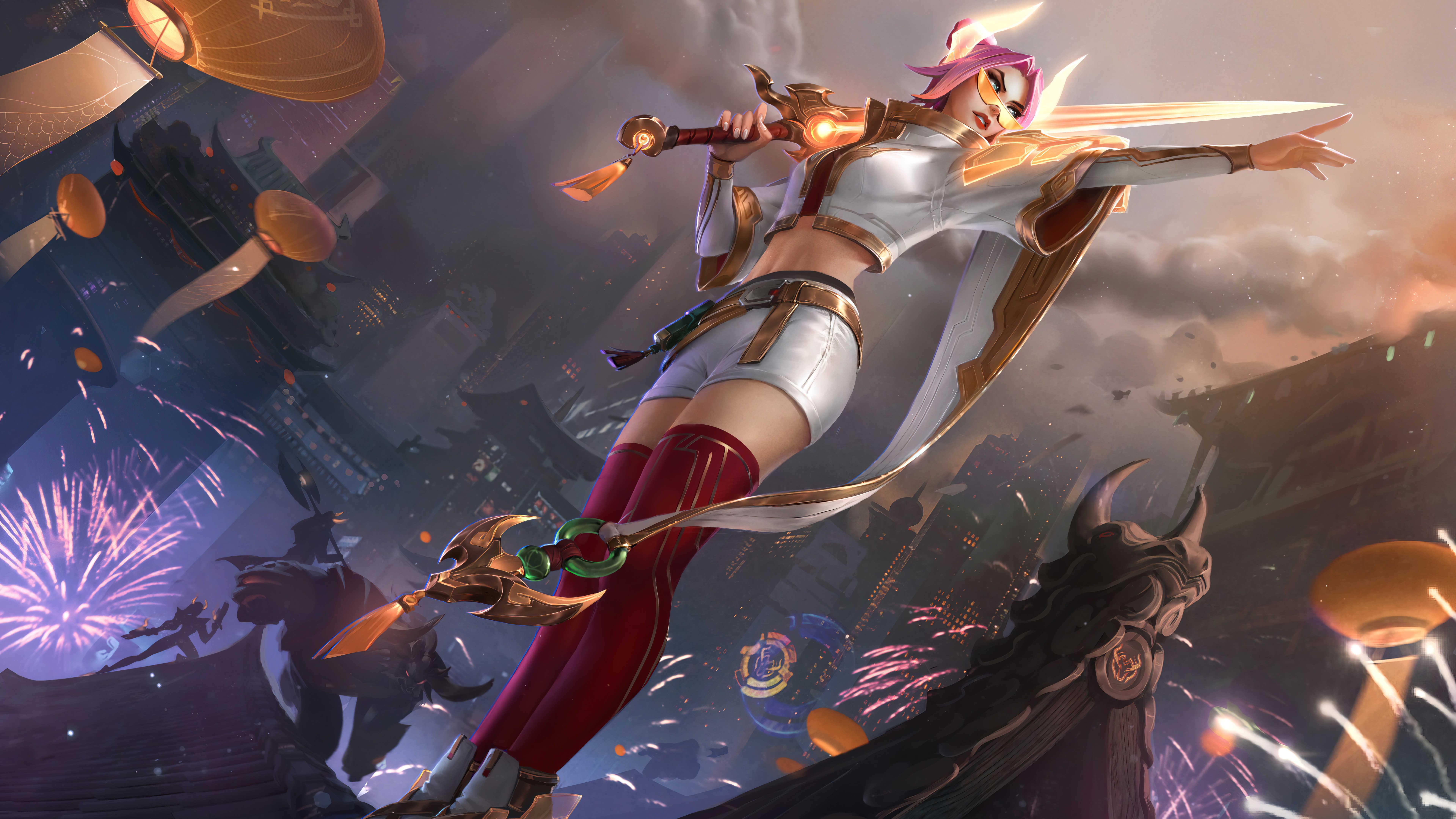 Cool League Of Legends Wallpaper Fiora