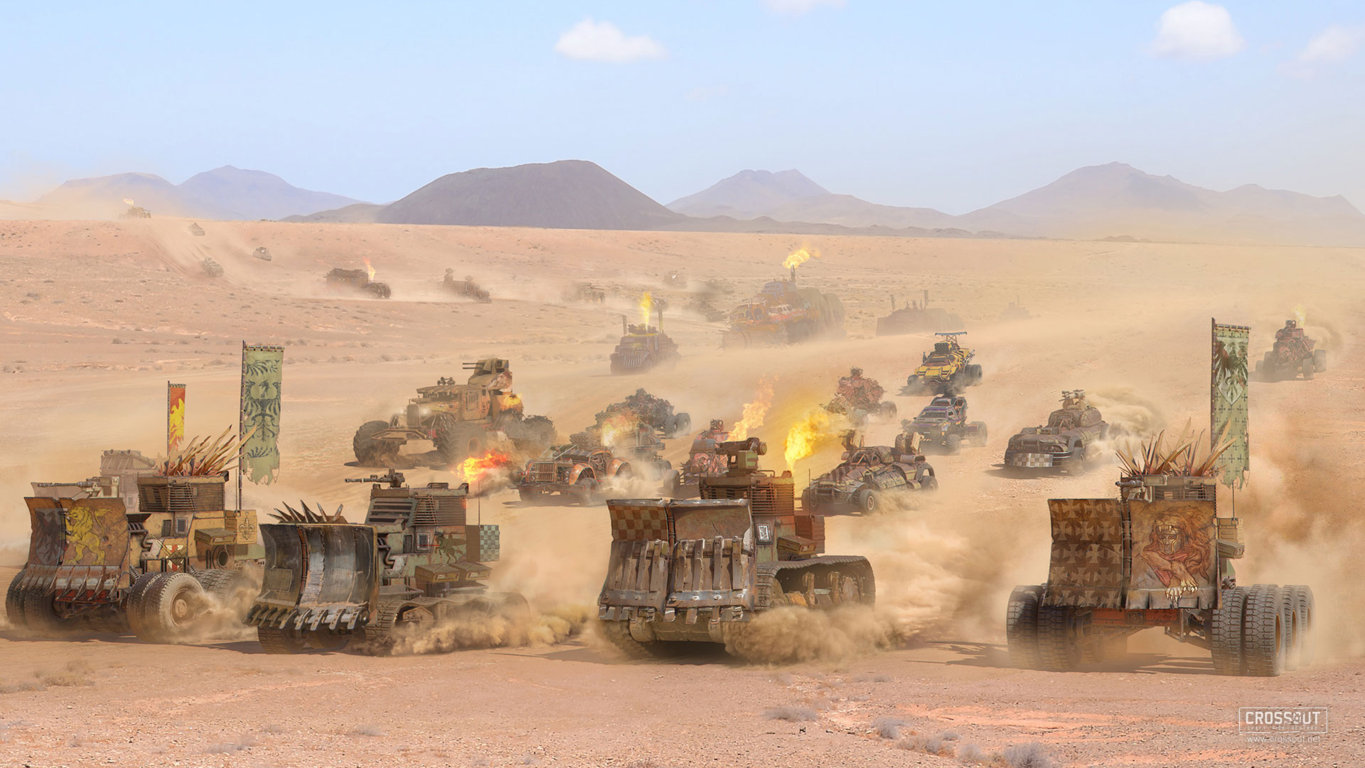 Crossout Battle Royale Is Momentum And Gaining