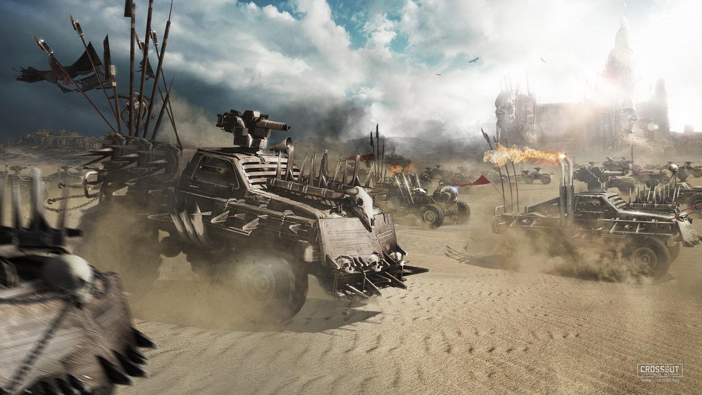 Crossout, Game Sci Fi Science Fiction Futuristic Technics