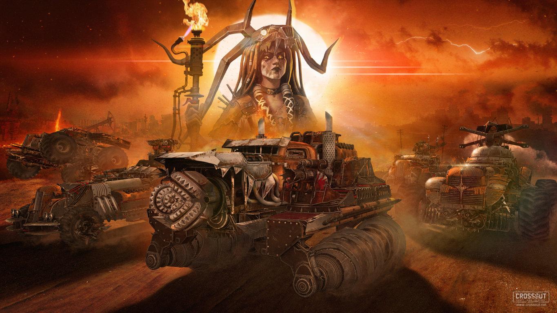 Crossout Game Sci Fi Science Fiction Hd Futuristic Technics