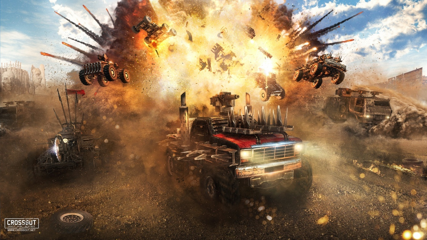 Crossout Hd Wallpaper And Image Hd Background
