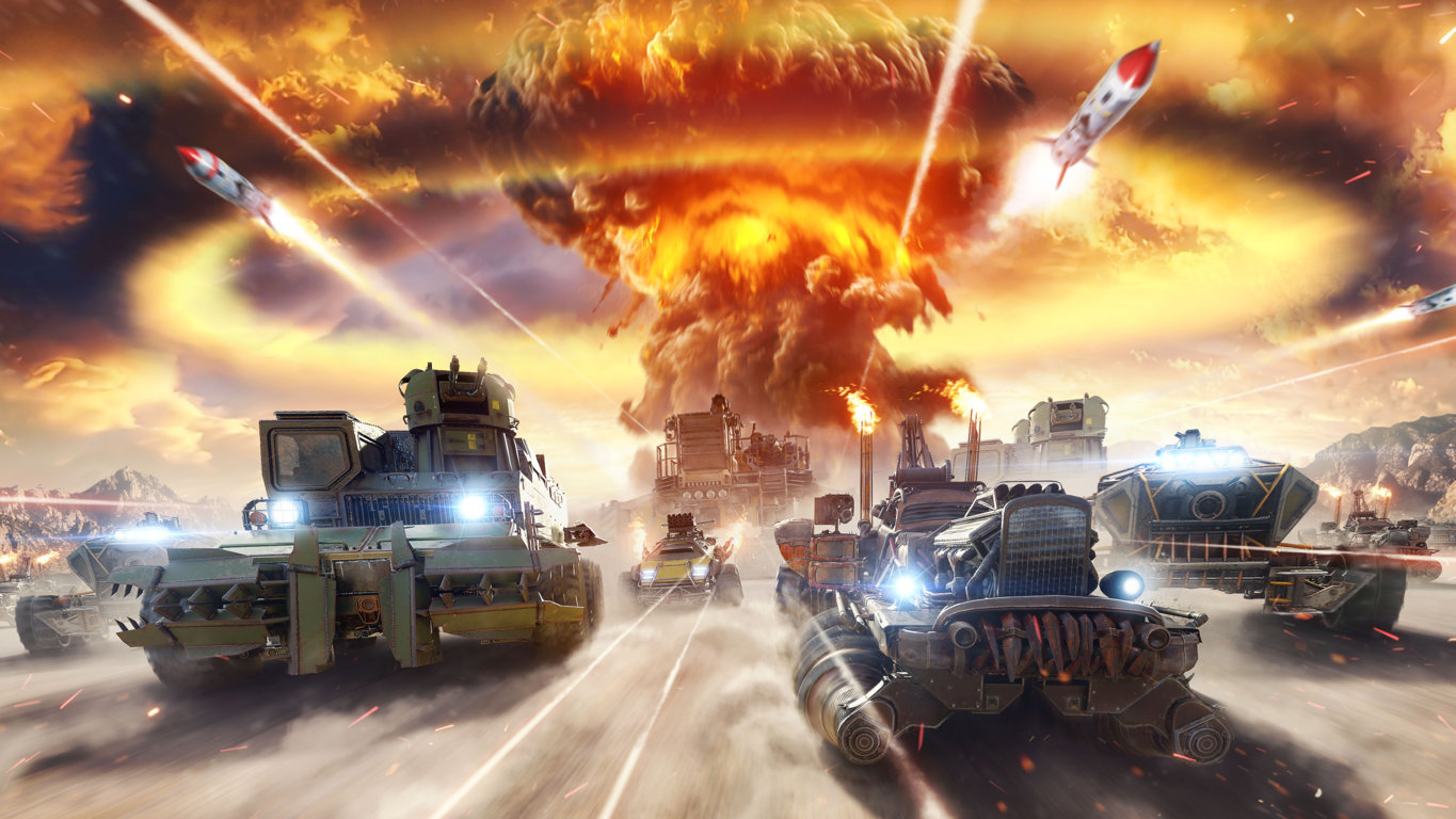 Crossout Reaches Three Million Milestone In Less Than A 4k Player