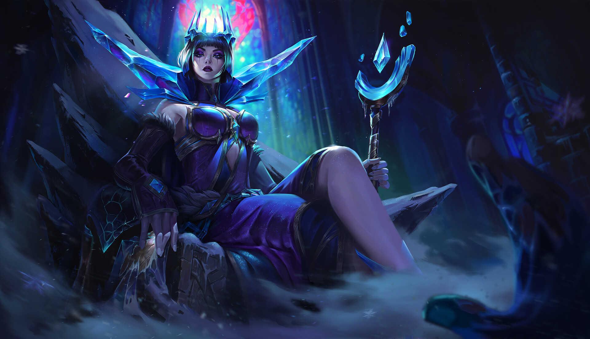 Dark League Of Legends Hd Image Leblanc
