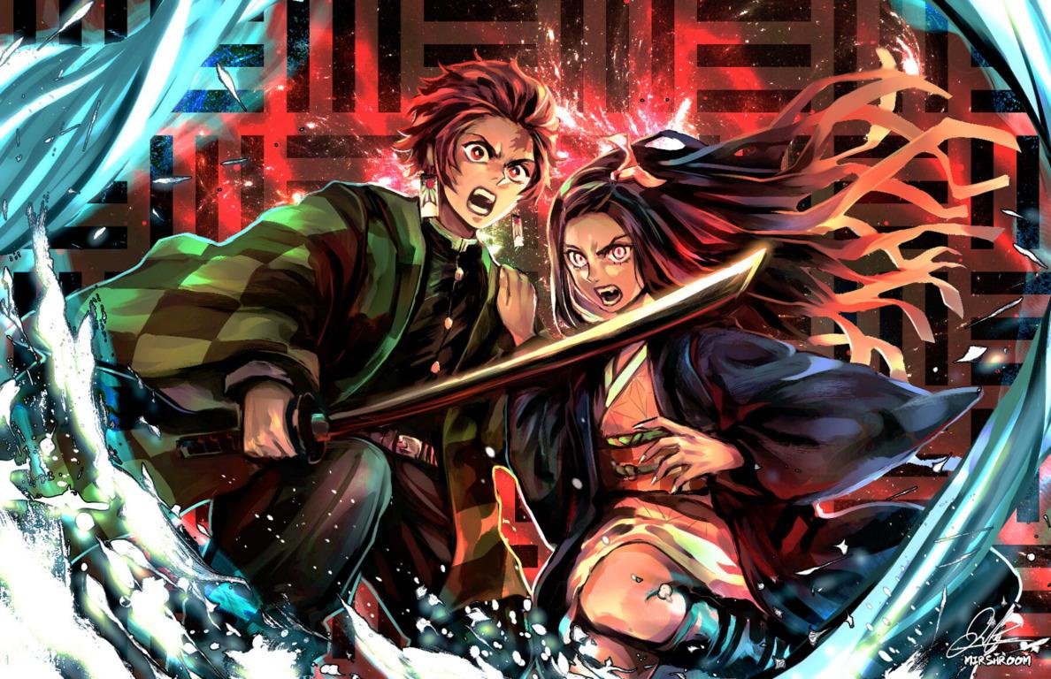 Demon Slayer Kimetsu No Hd Wallpaper Background Image Yaiba