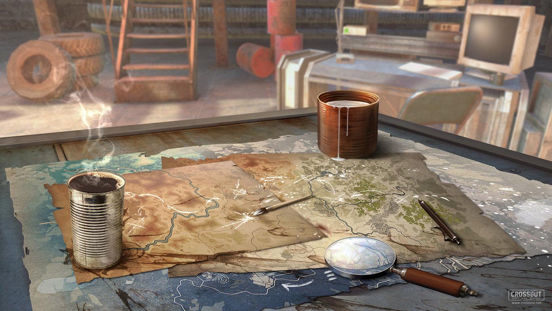 Desktop Wallpaper Crossout Fantasy Graphics Games Technics 3d