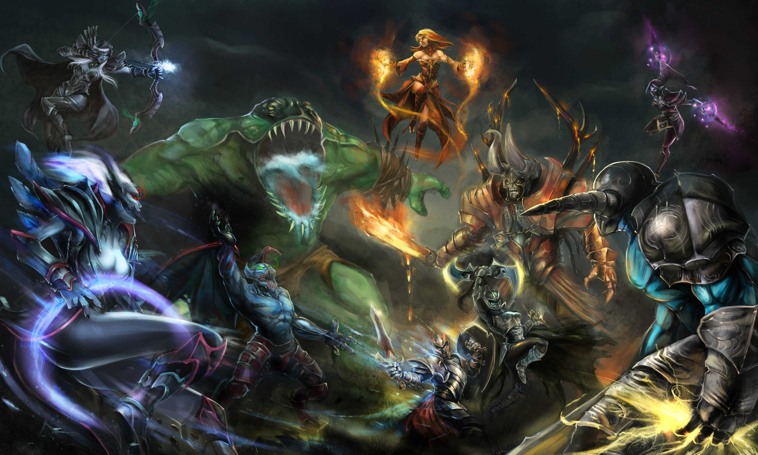 Dota 2 Hd And Background Image Wallpaper