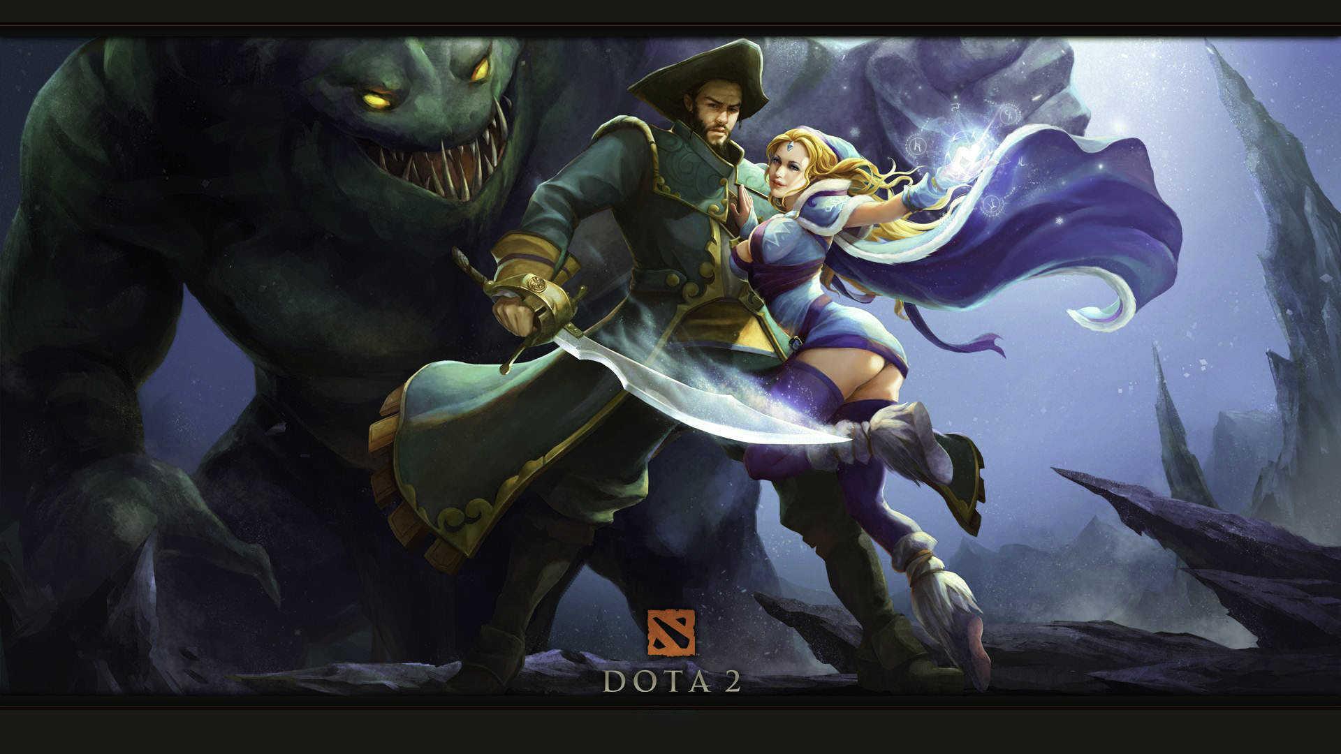 Dota2 Luna Hd Wallpaper
