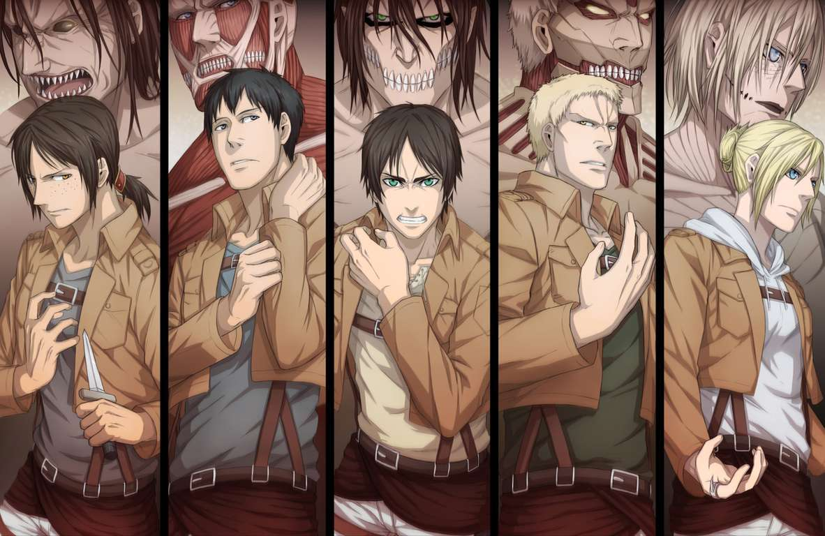 Download Attack On Titan Wallpaper Pack Hd