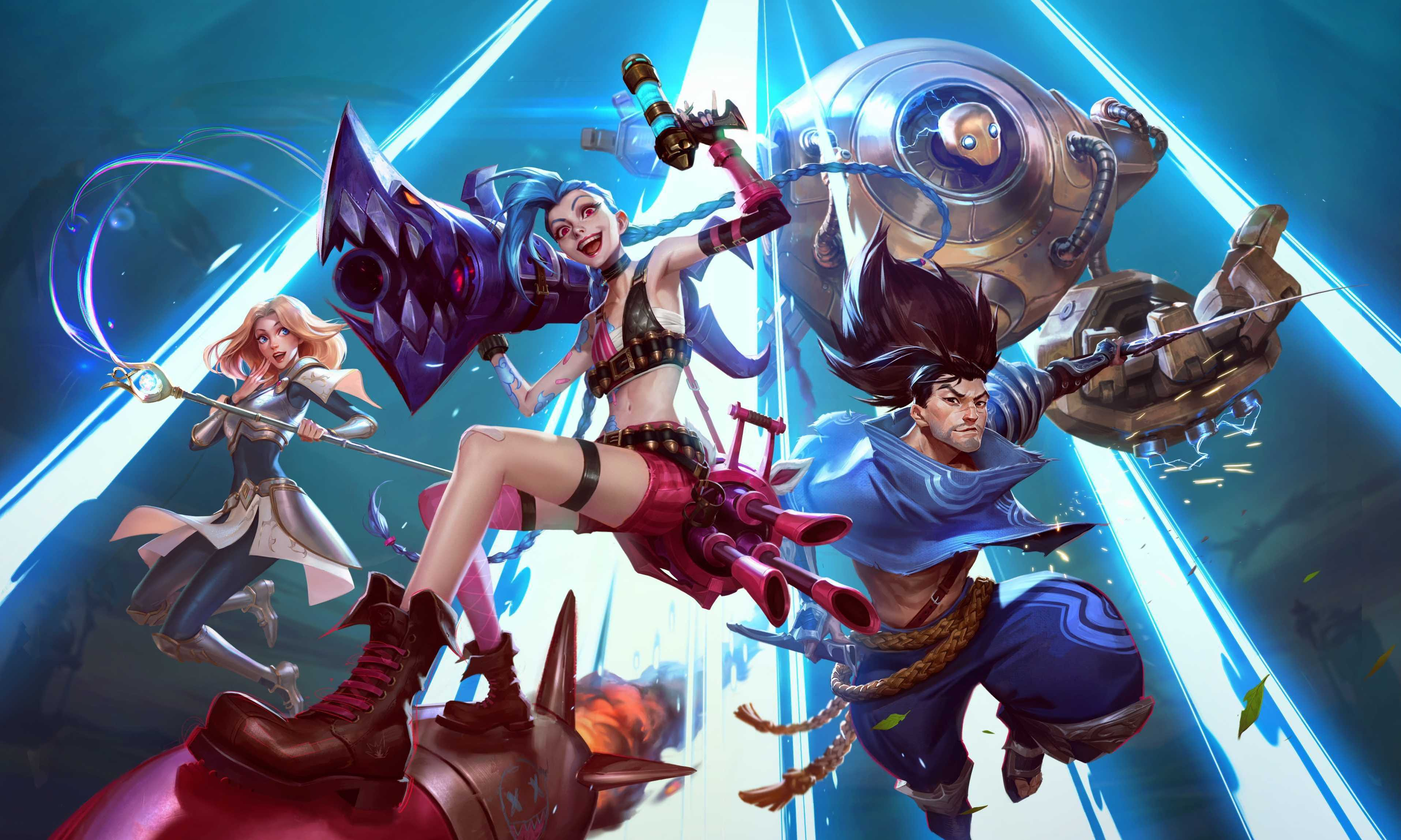 Download Hd League Of Legends With New App Wallpaper