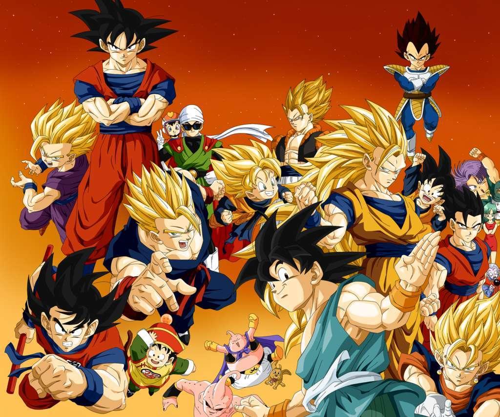Dragon Ball Z 4 Anime Wallpaper Hd Wallpaper