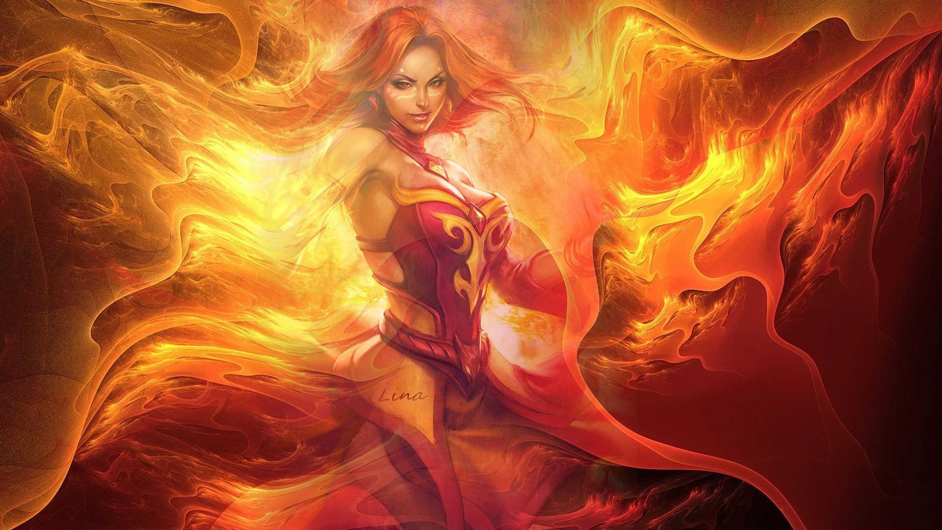 Ember Spirit Fury Of Flame Warrior – Dota 2 Wallpaper The