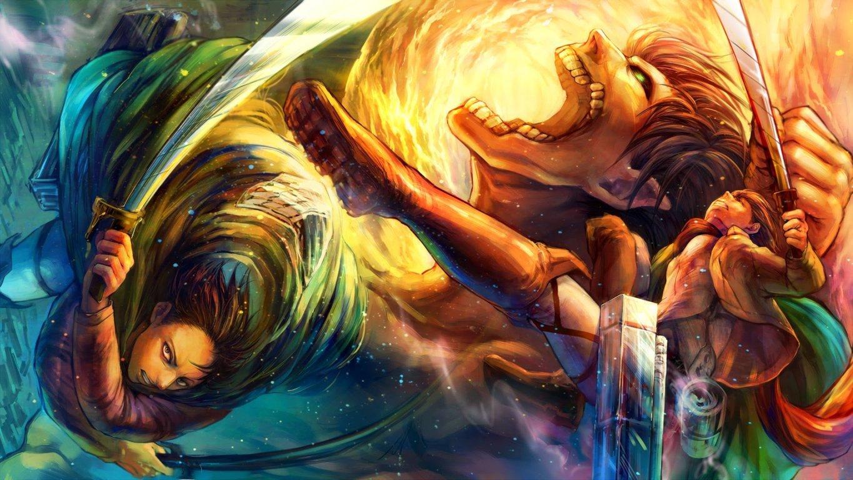 Eren Attack On Titan Computer Wallpaper Wallpaper