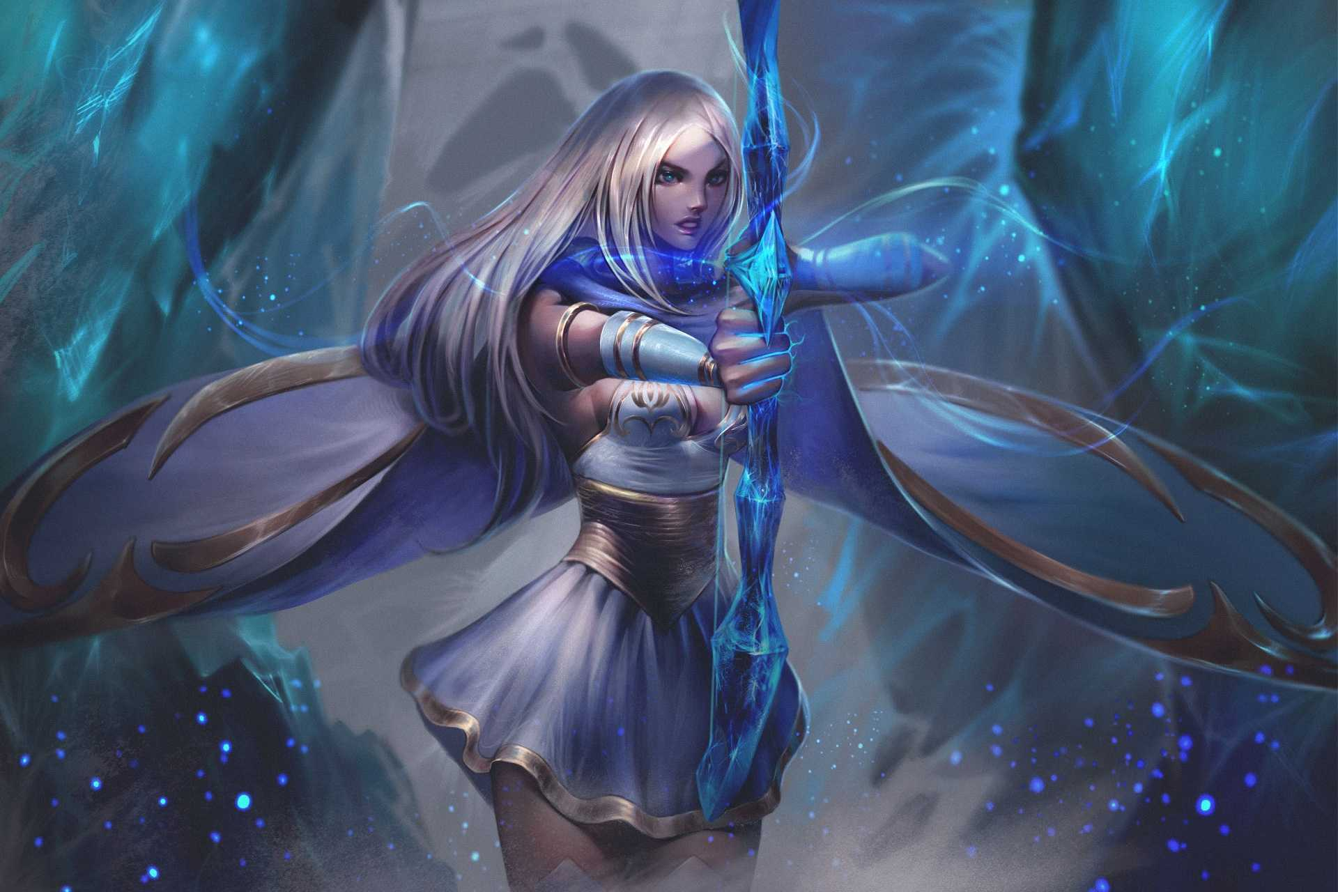 Game League Of Legends Wallpaper Ashe