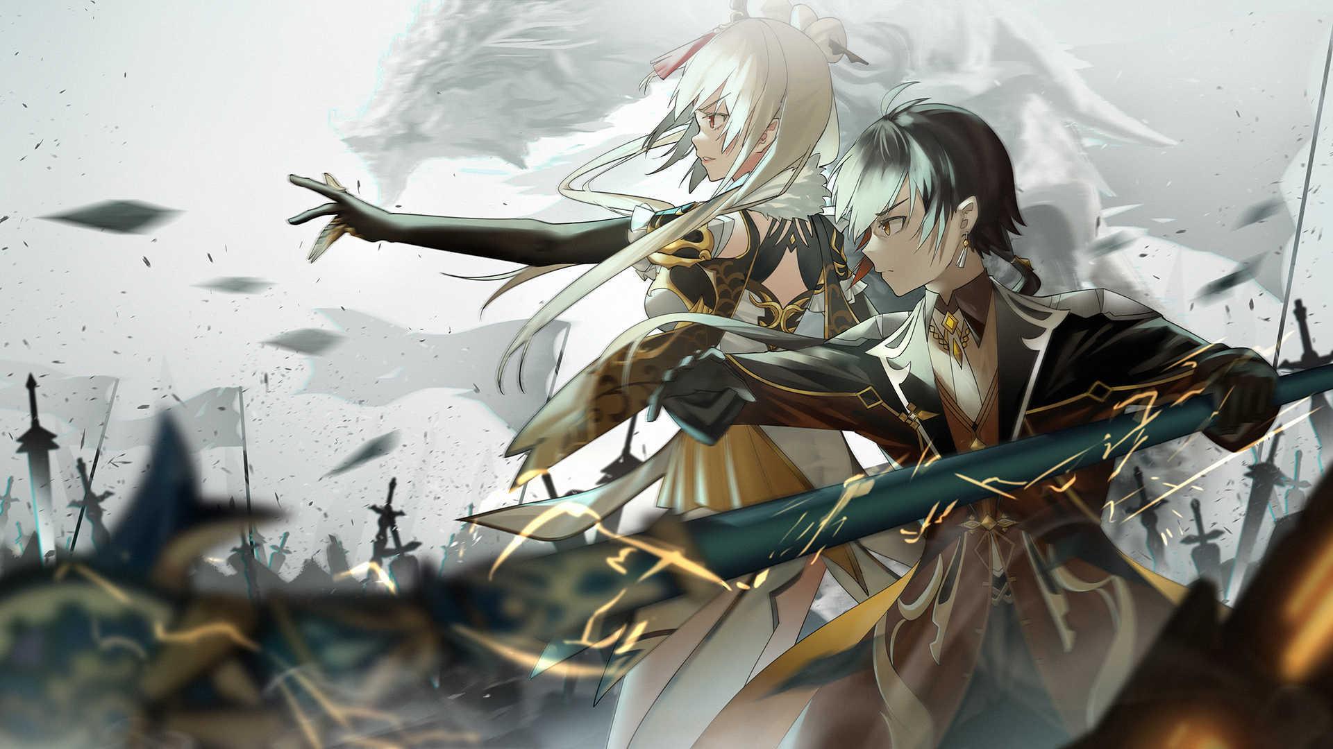 Genshin Impact Zerochan Anime Board 4k Image