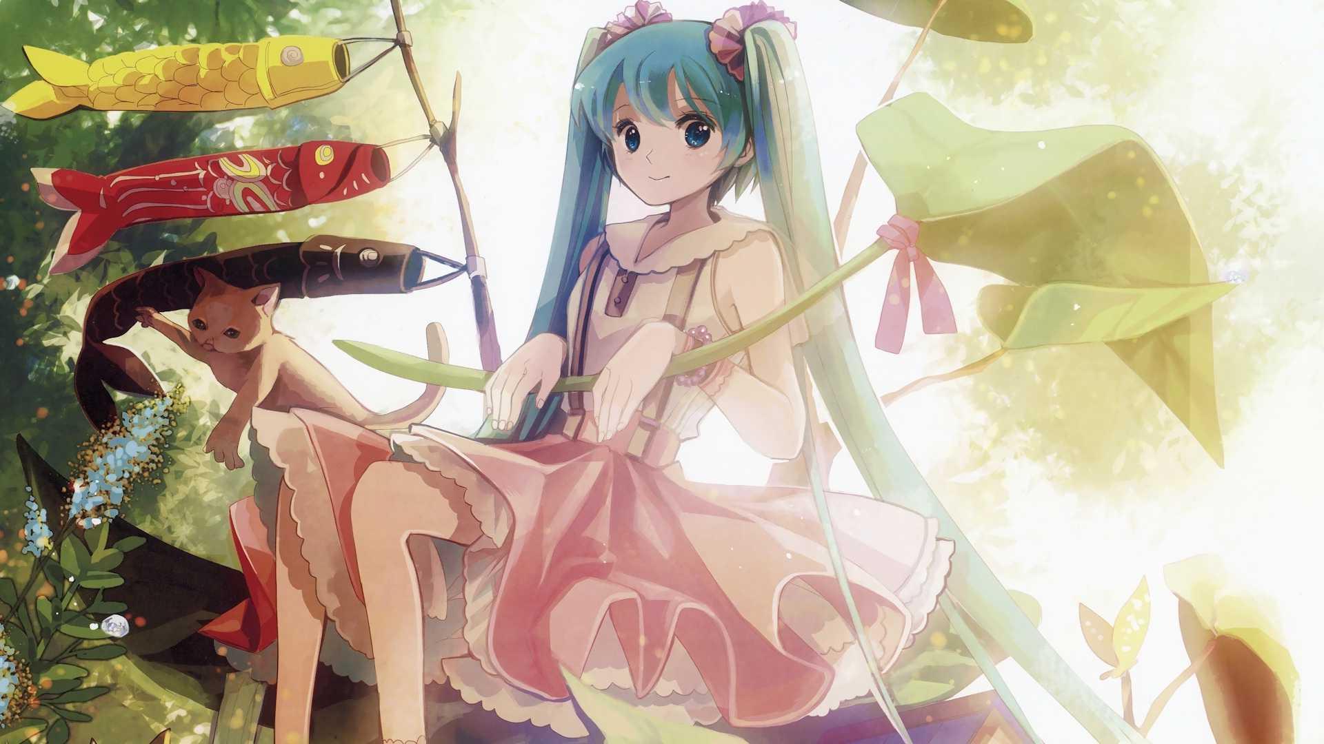 Hatsune Miku New Vocaloid Desktop Wallpaper One Wallpaper