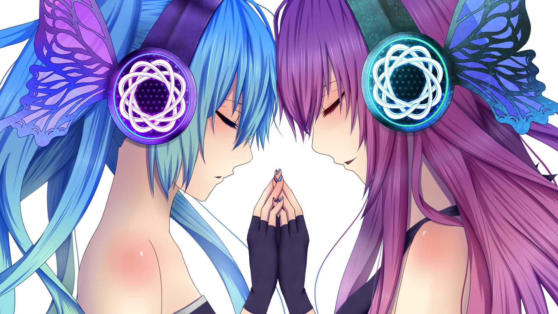 Hatsune Miku Singing Twintails Hatsune Miku Vocaloid