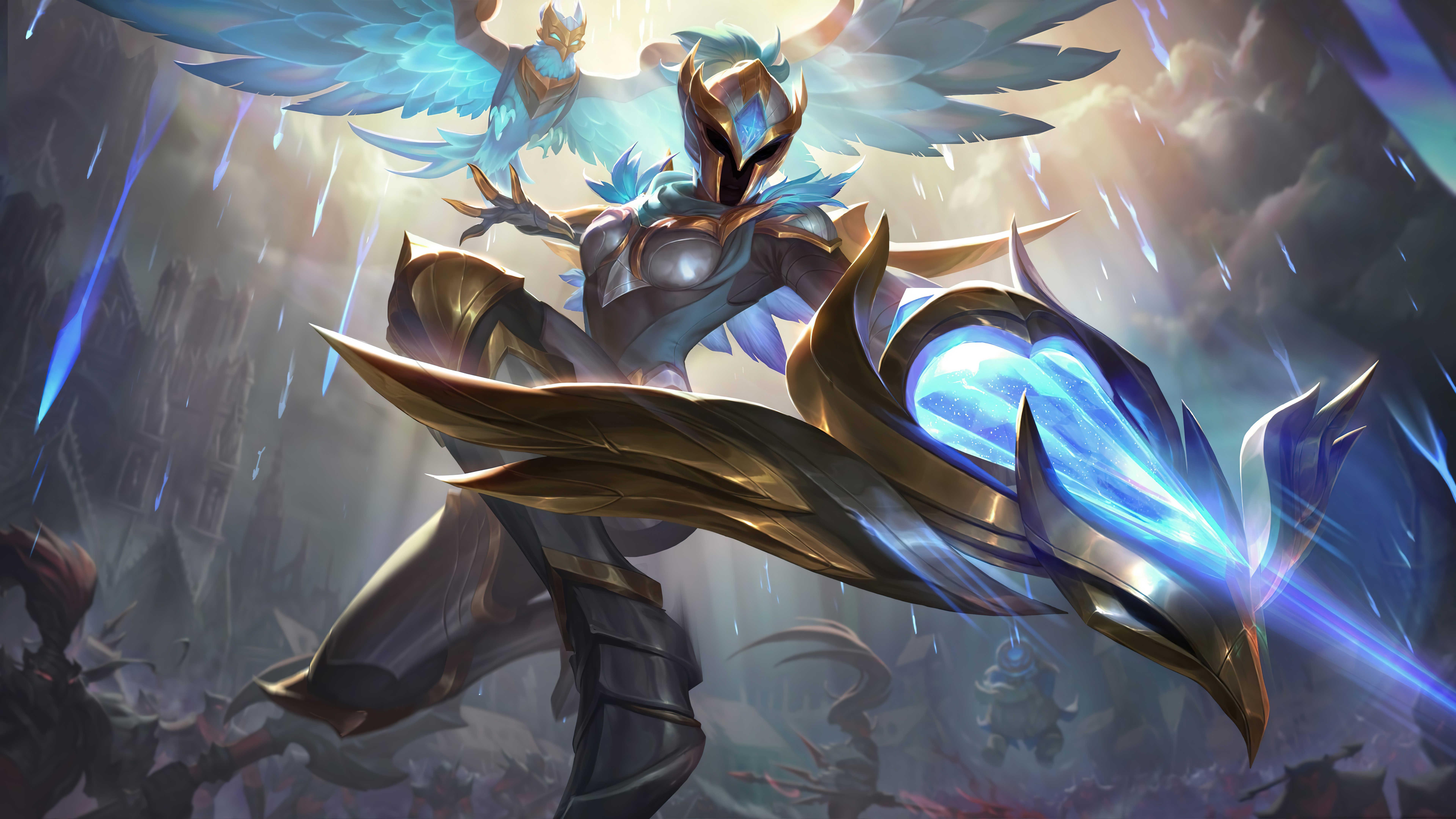 Hd Quinn League Legends Wallpaper Of