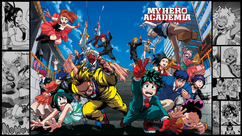 High Resolution Boku No Academia Hd Wallpaper Id Hero