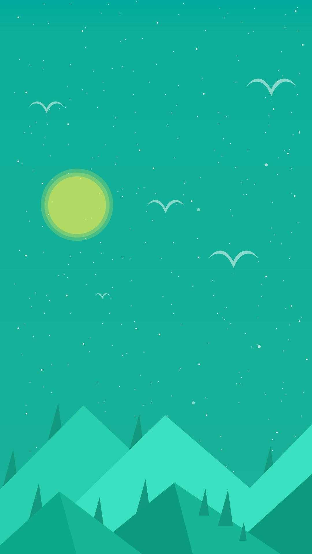 I Made A Wallpaper Portal Glados Mobile Minimalist