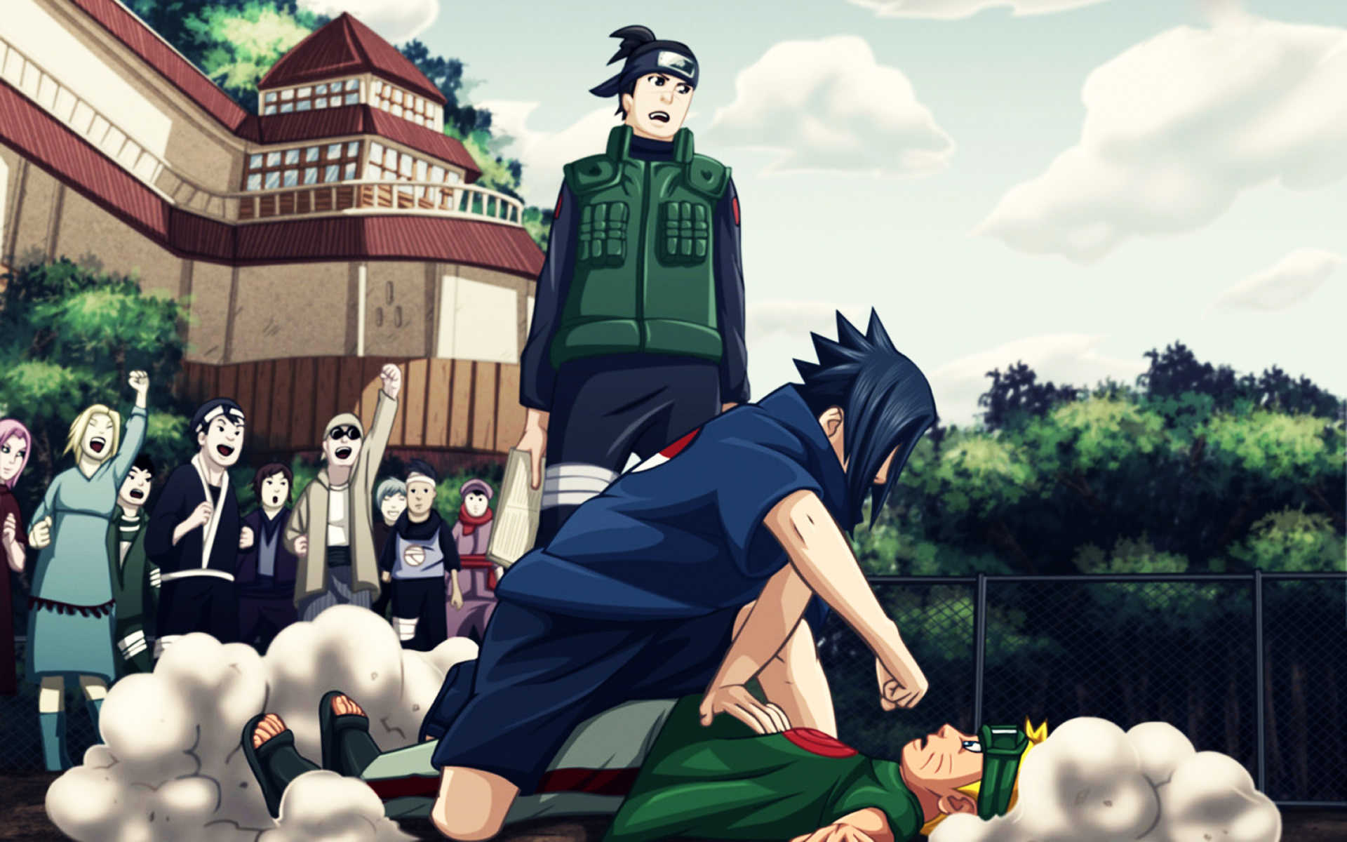Jinchuuriki Naruto Shippuden Sharingan Sasuke Uzumaki Uchiha