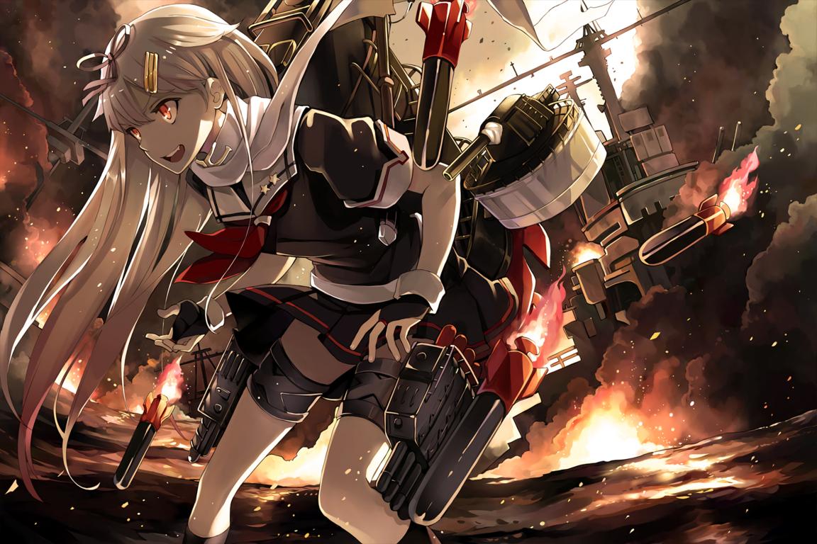 Kantai Collection Wallpaper Zerochan Image Board Anime