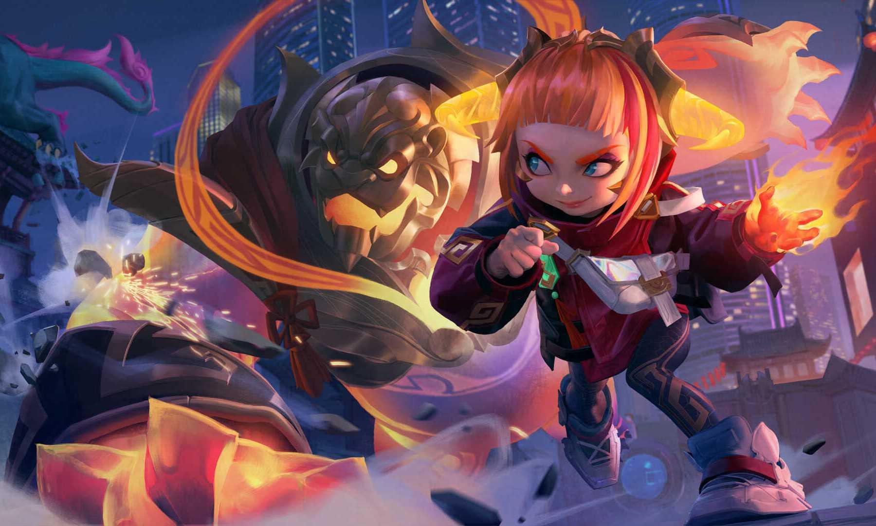 League Of Legends Annie 4k Wallpaper