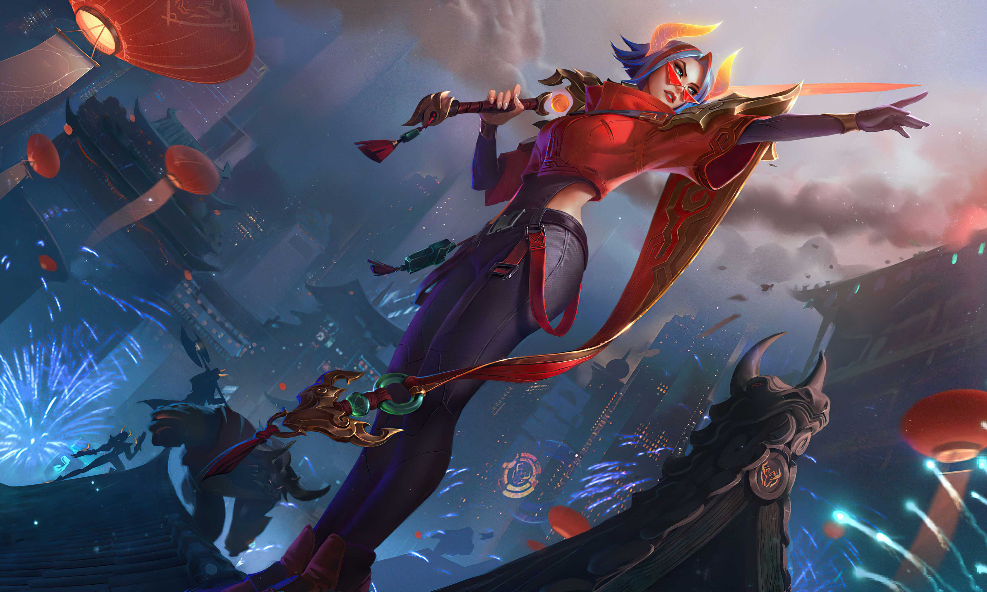 League Of Legends Fiora 4k Wallpaper