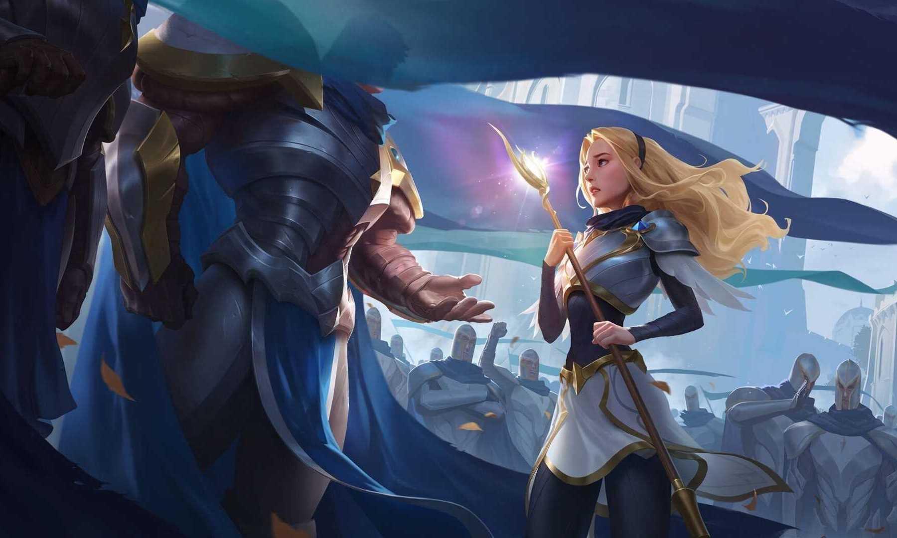League Of Legends Garen Lux 4k Wallpaper