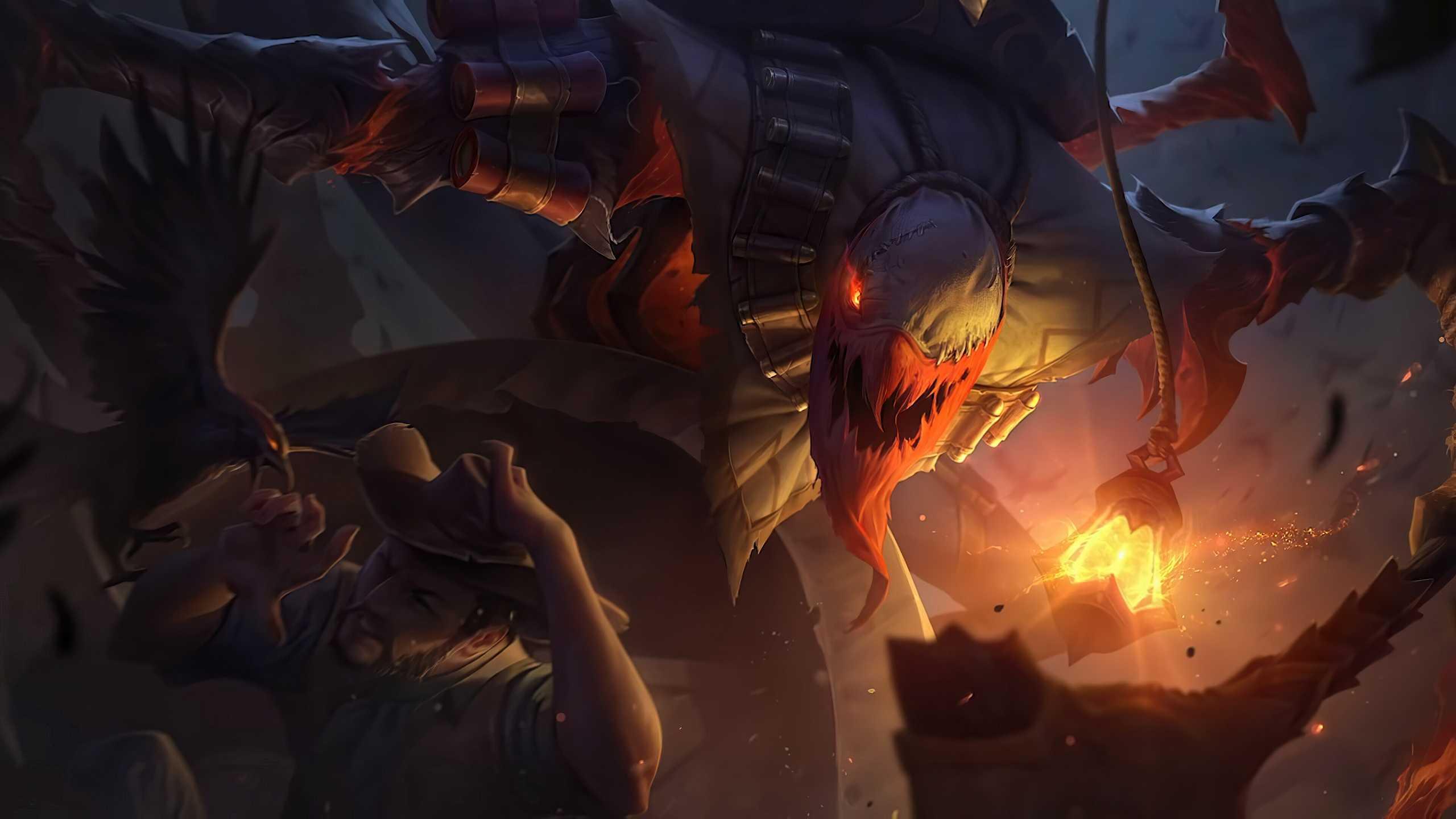 League Of Legends Hd Wallpaper Fiddlesticks