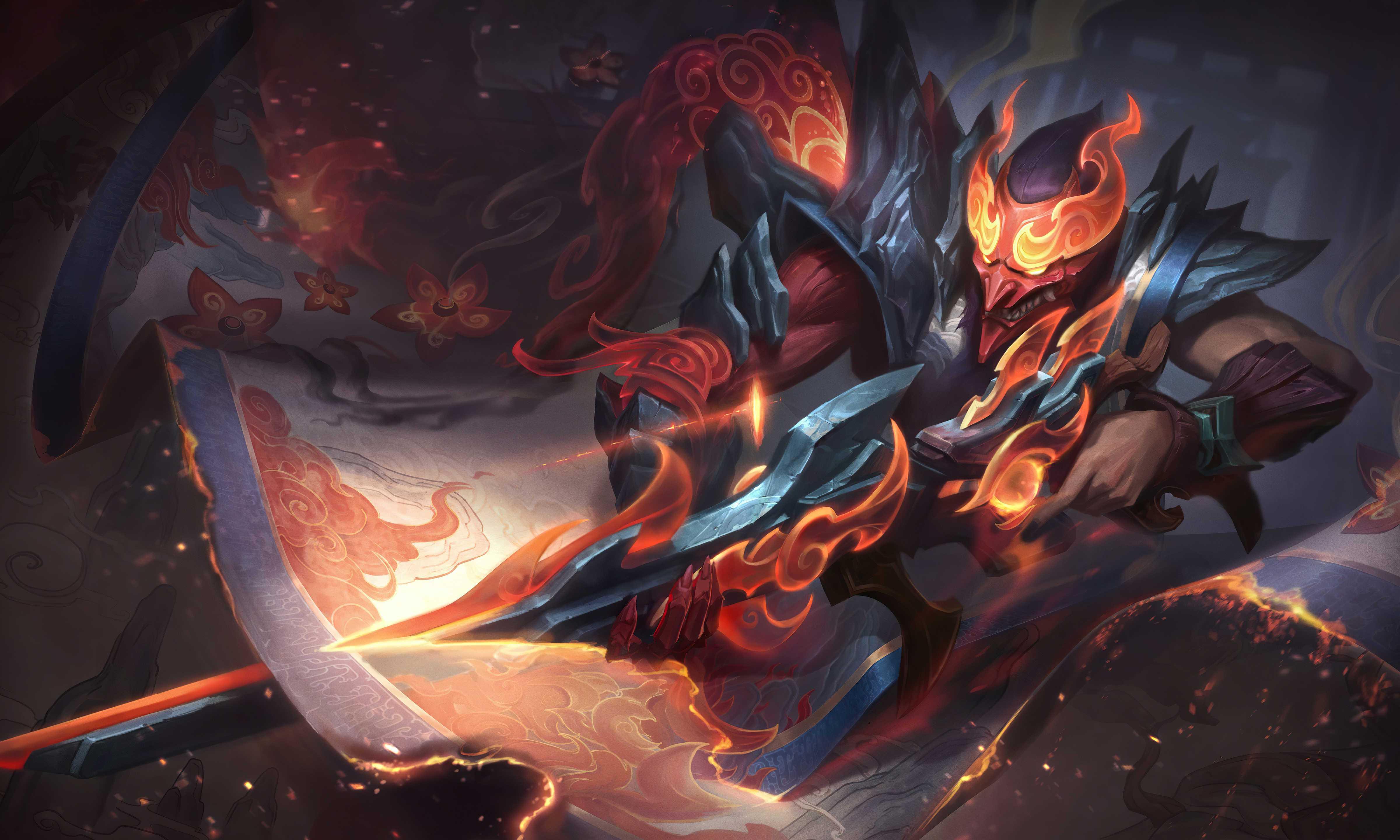 League Of Legends Jhin 4k Wallpaper