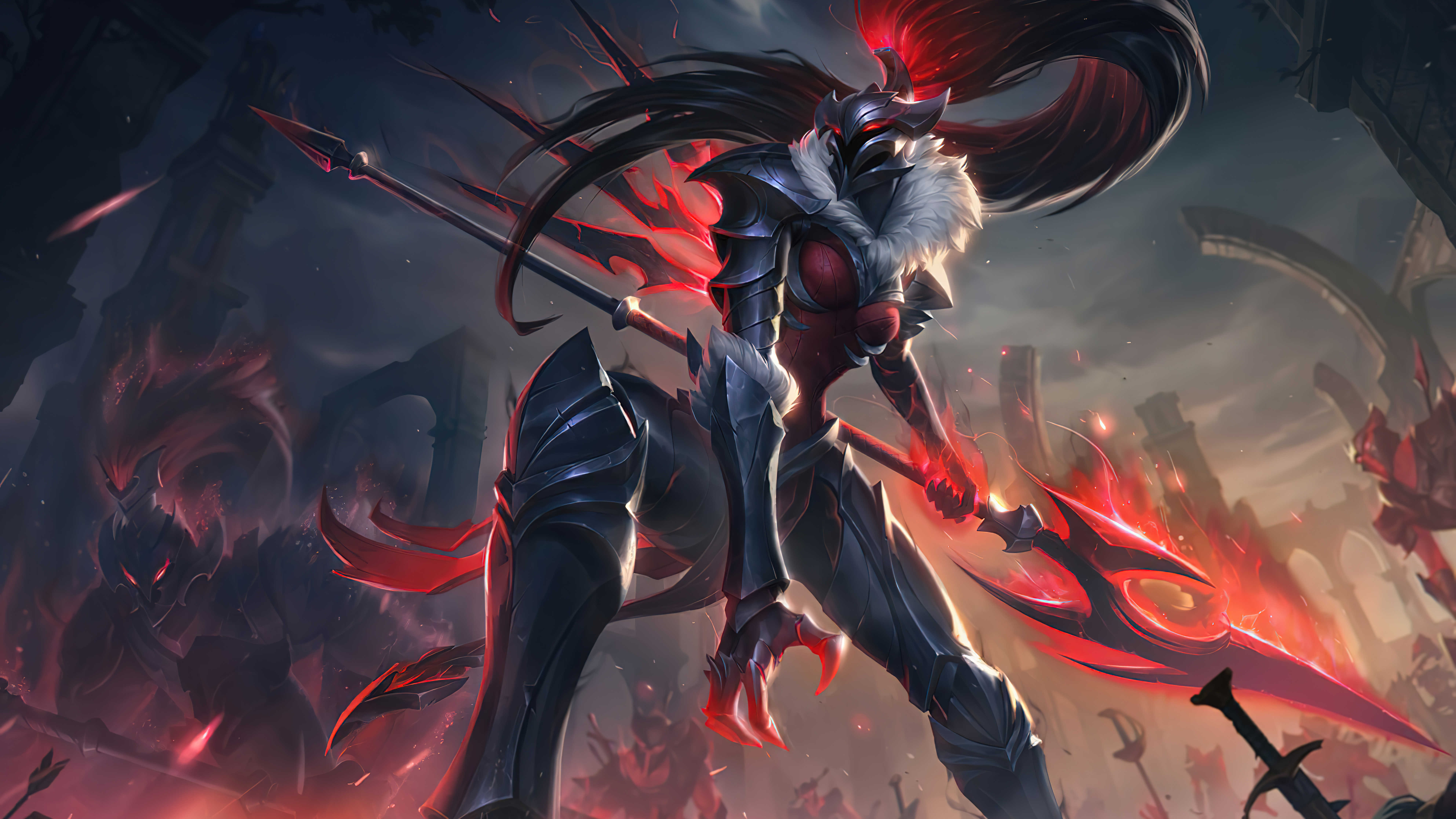 League Of Legends Kalista For Desktop Wallpaper