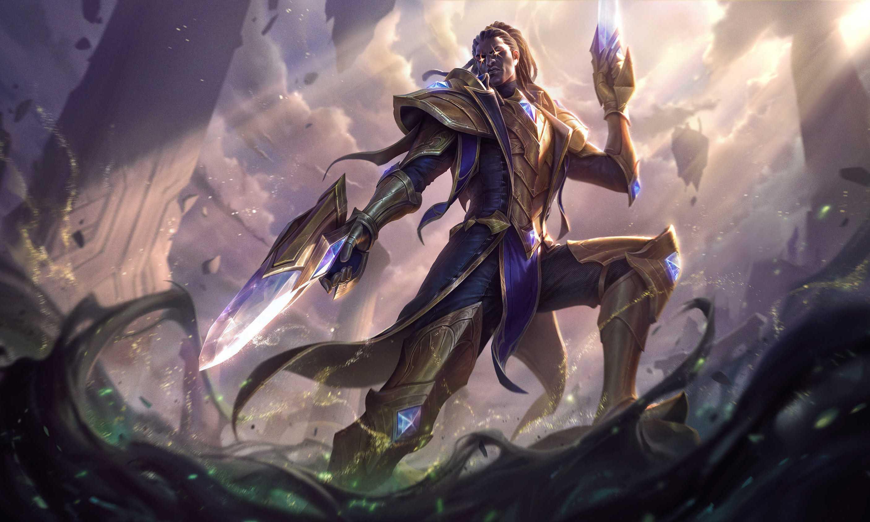 League Of Legends Lucian Desktop Wallpaper