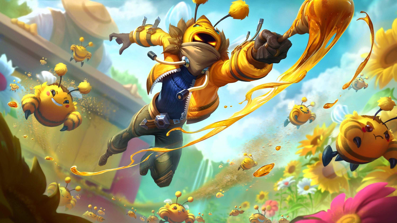 League Of Legends Malzahar Wallpaper Flying