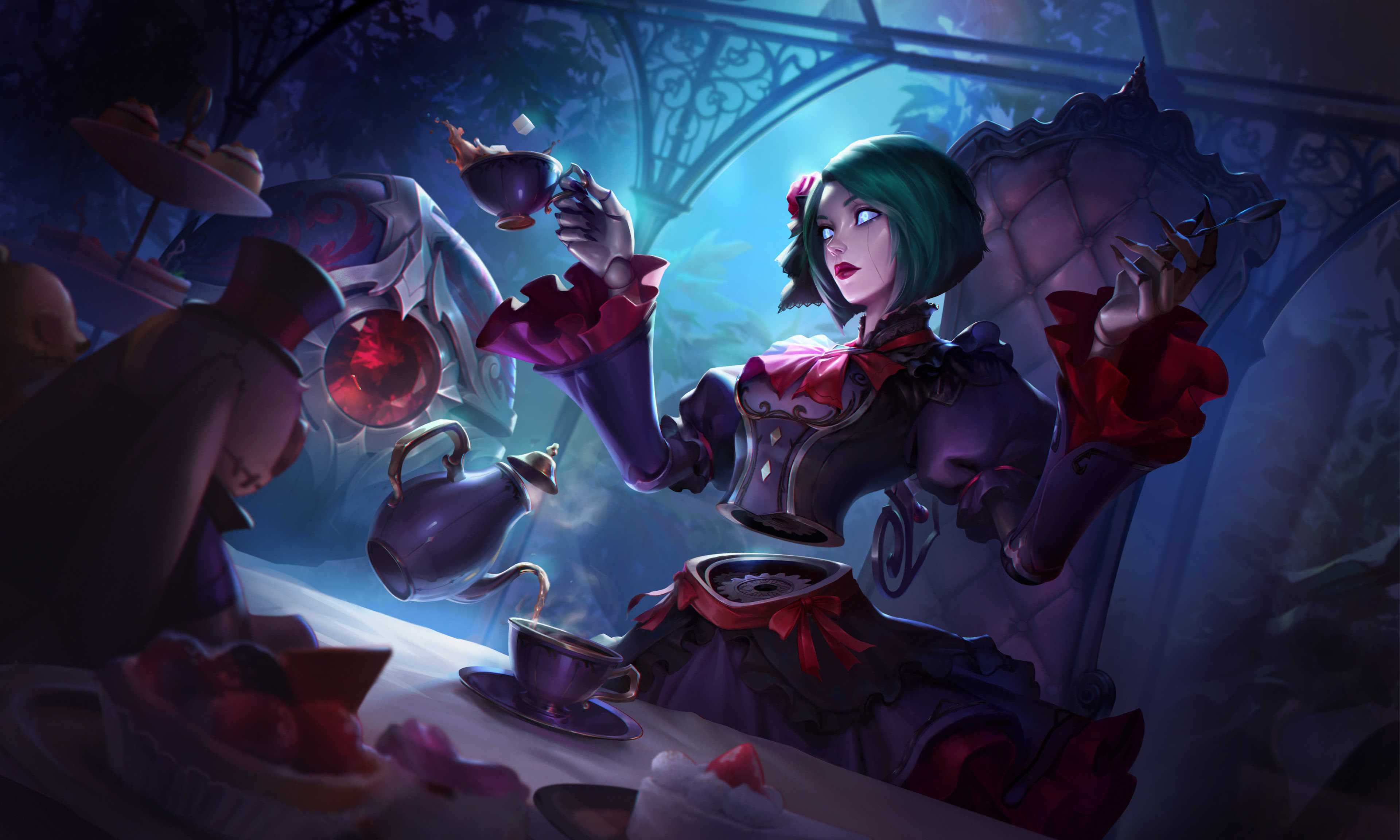 League Of Legends Orianna Hd For Android Wallpaper