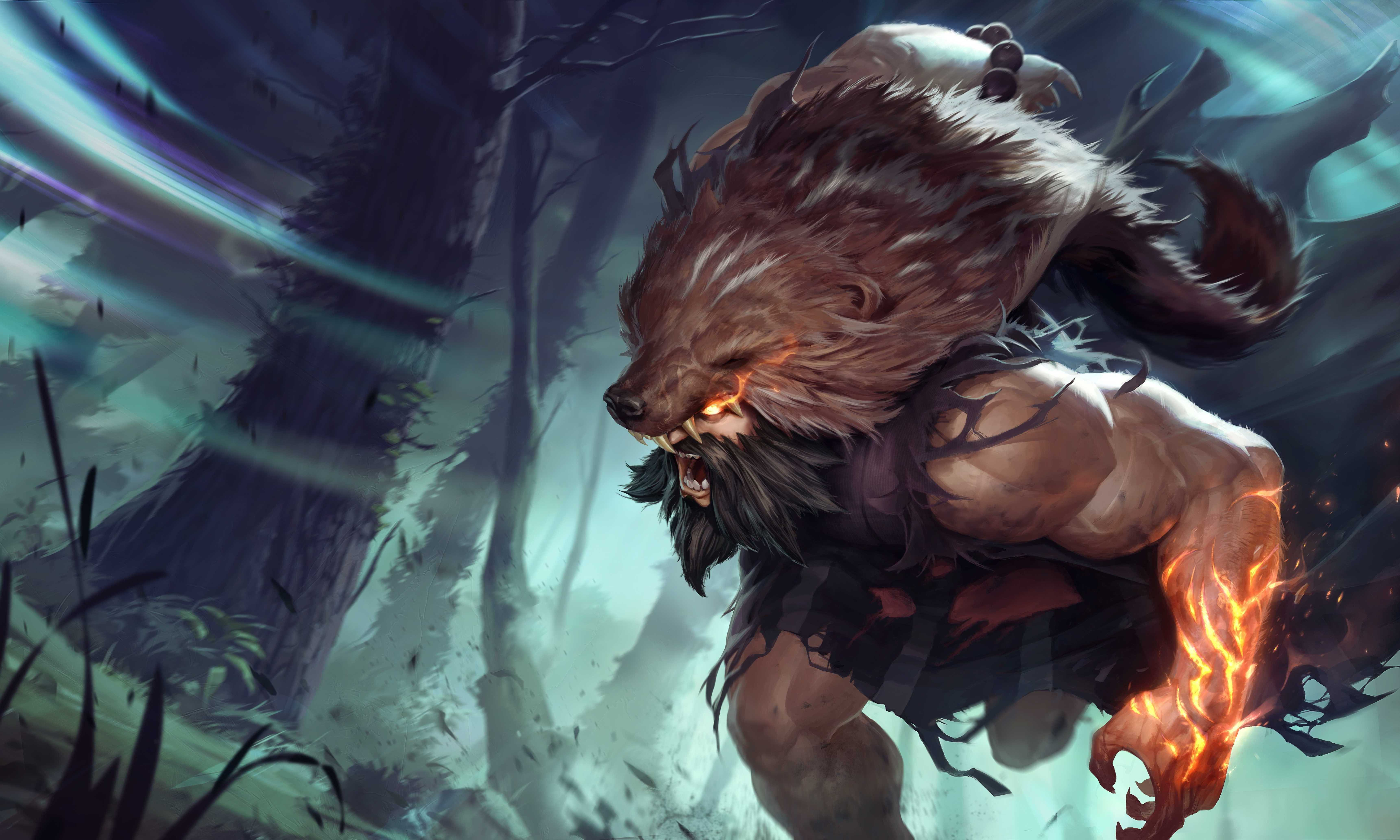 League Of Legends Udyr Wallpaper High Resolution In